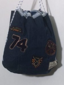 Tas '74' Upcycled by Vintage for kids